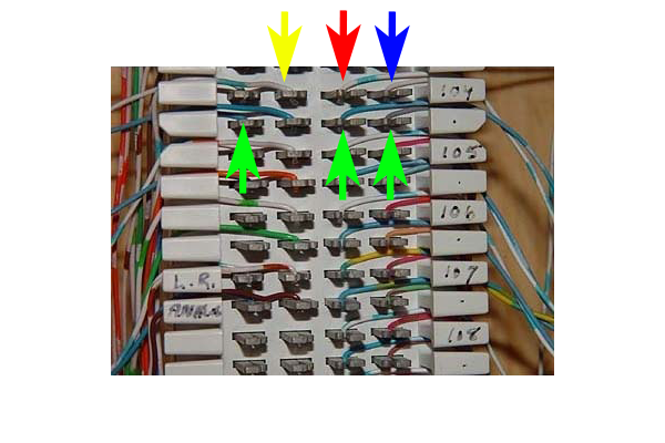 66 block connections brand x internet 66 block wiring diagram at virtualis.co